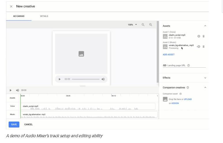 Новые инструменты для работы с аудиорекламой в Google