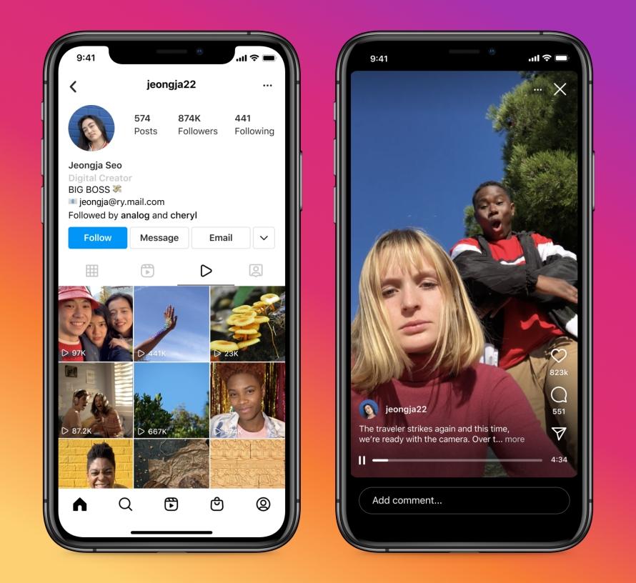 В Instagram появится новый формат видеорекламы1