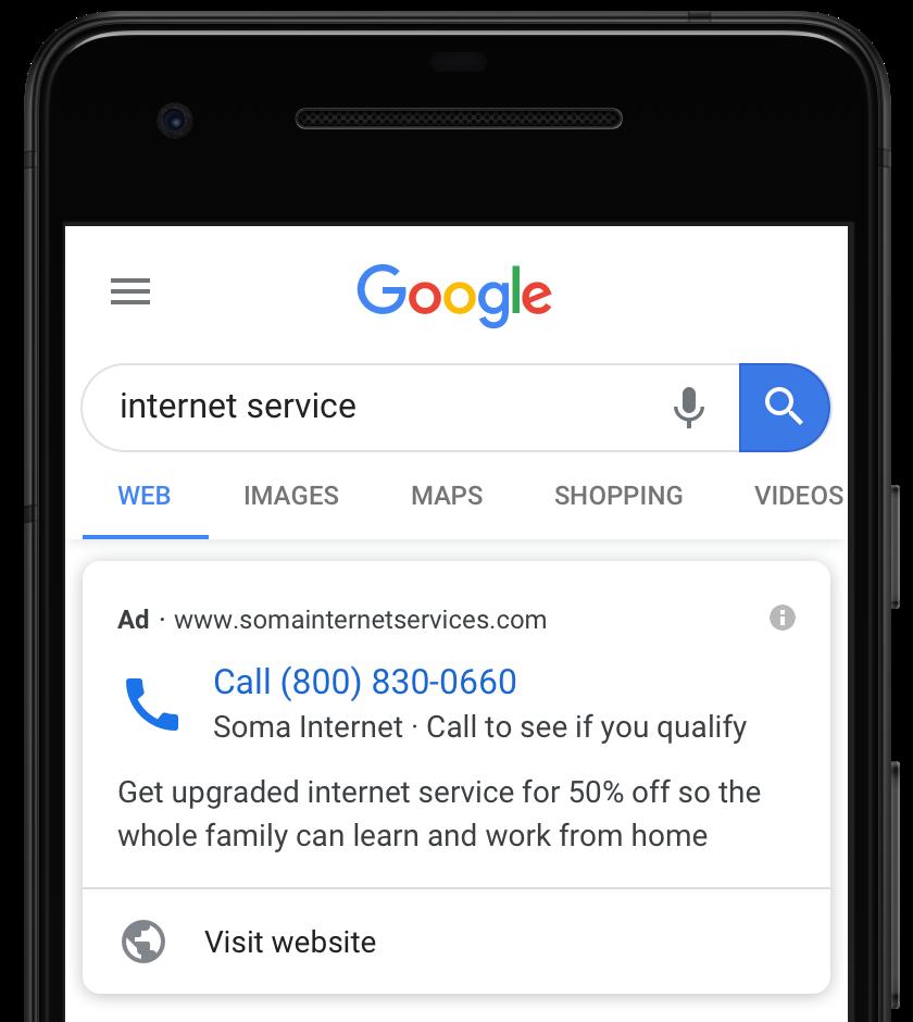Расширение с формой для лидов от Google Ads теперь доступно для YouTube и Discover