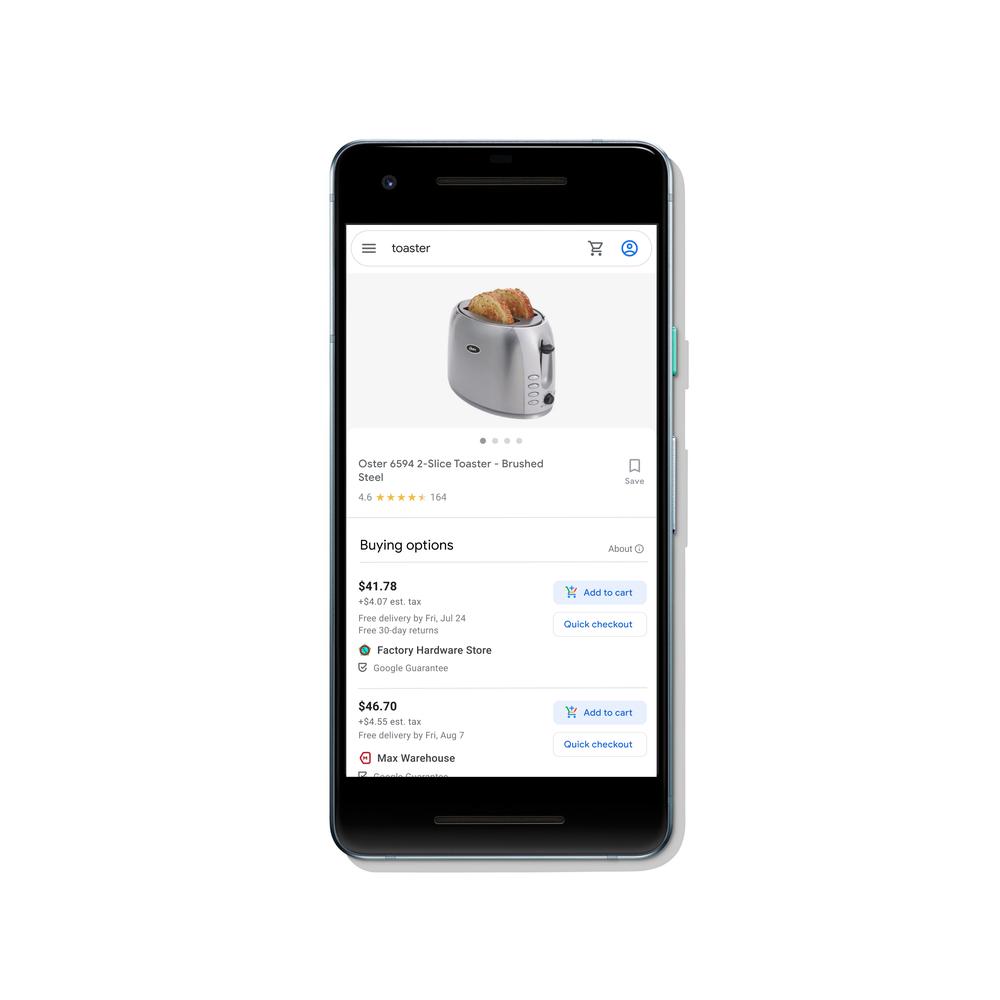 Google снимает комиссию для продаж через поиск