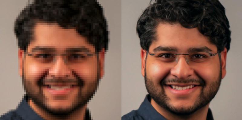 Технологии Google способны улучшить качество изображения в 16 раз2