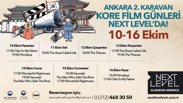 Ankara'da 2. Karavan Kore Film Günleri Next Level'da