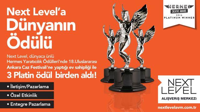 Next Level'a Dünyanın Ödülü