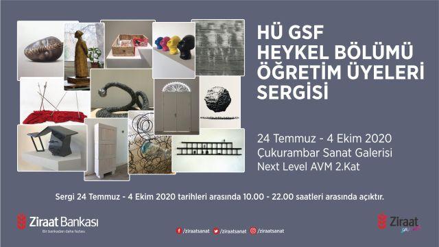 Hü GSF Heykel Bölümü Öğretim Üyeleri Sergisi