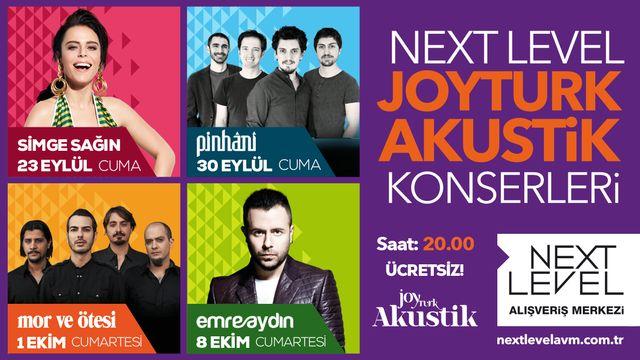 Next Level JoyTürk Akustik Konserleri
