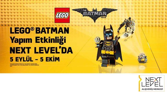 Lego Batman Yapım Etkinliği