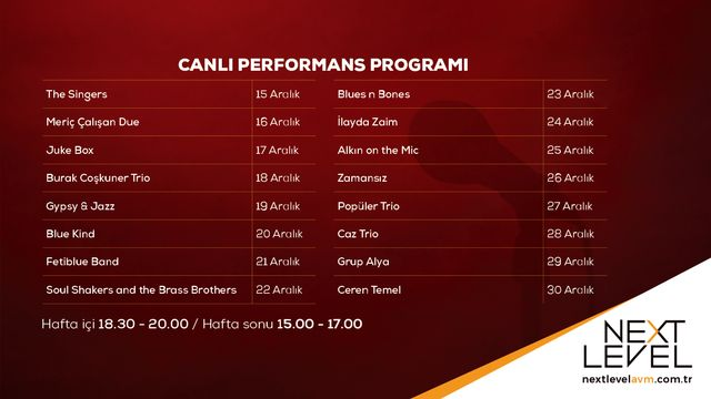 Canlı Performans Programı