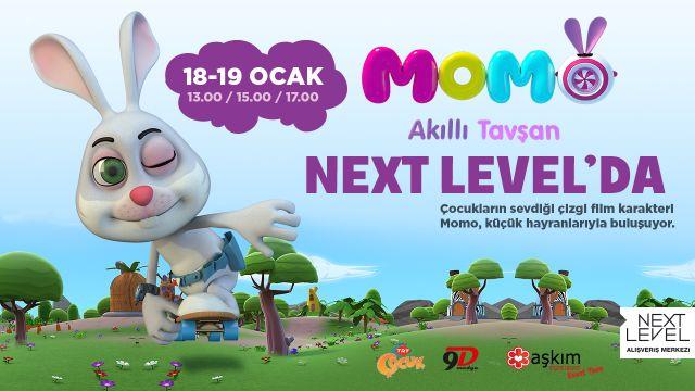 Momo Akıllı Tavşan Next Level'da