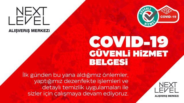 COVID-19 GÜVENLİ HİZMET BELGESİ