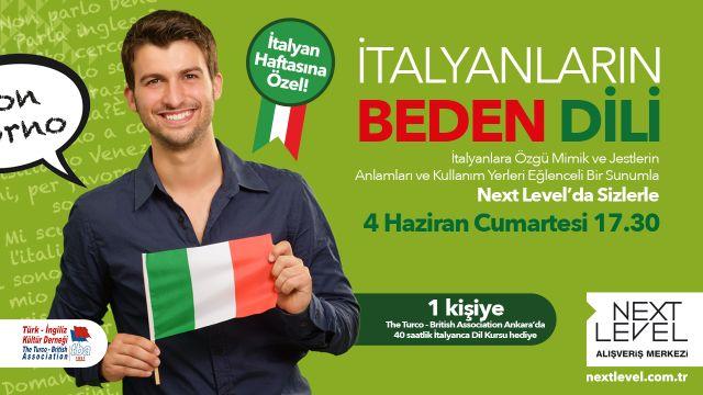 İtalyanların Beden Dili