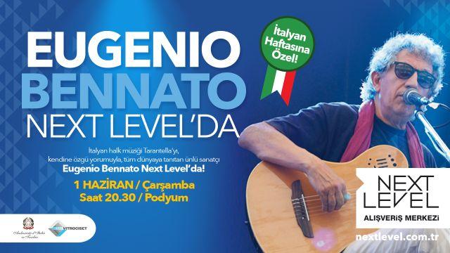 Eugenio Bennato Next Level'da