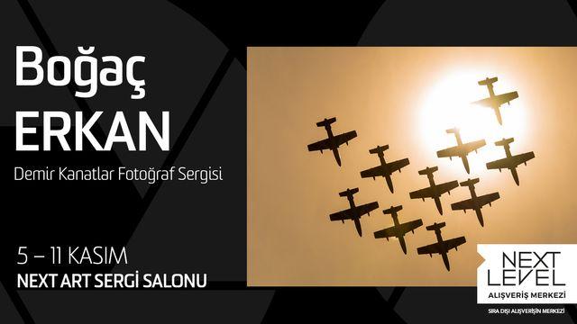 Boğaç Erkan Demir Kanatlar Fotoğraf Sergisi