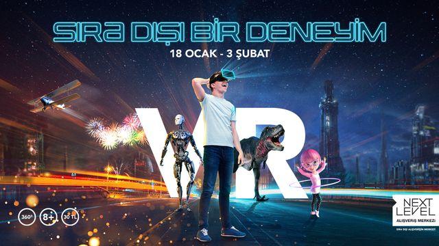 VR (Sanal Gerçeklik) Teknolojisiyle sıra dışı bir deneyim alanı kuruldu!