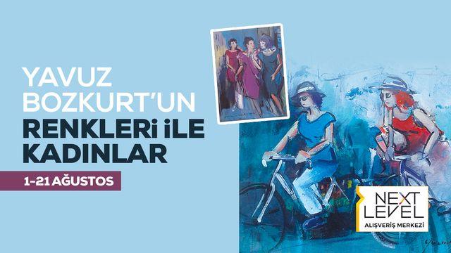 Yavuz Bozkurt'un Renkleri İle Kadınlar