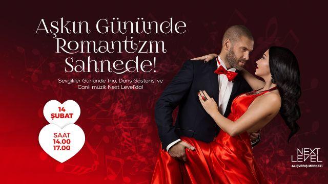 Aşkın Gününde Romantizm Sahnede!