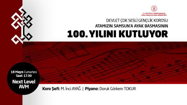 Atamızın Samsun'a Ayak Basmasının 100. Yılını Kutluyoruz