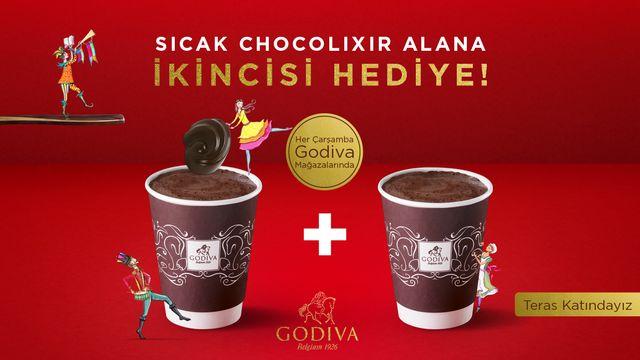 Sıcak Chocolixir Alana İkincisi Hediye!