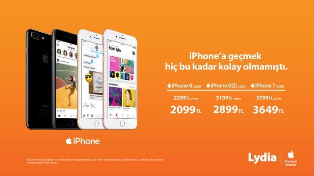 iPhone'a geçmek hiç bu kadar kolay olmamıştı.