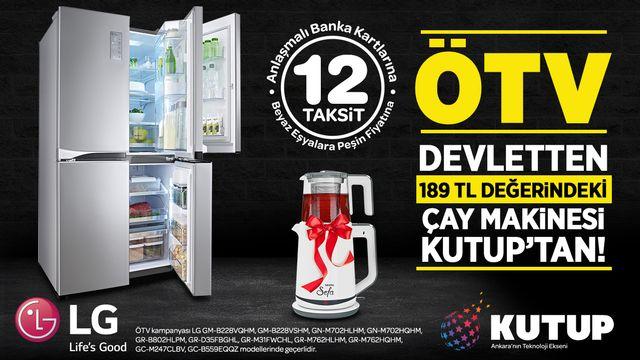 Ötv Devletten 189 TL Değerindeki Çay Makinesi Kutup'tan