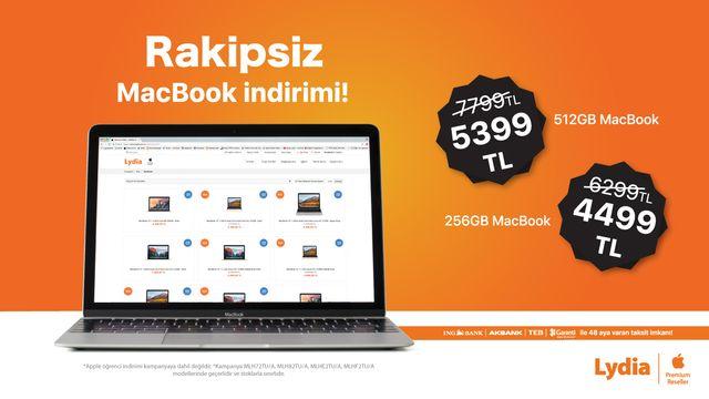 Rakipsiz Macbook İndirimi!