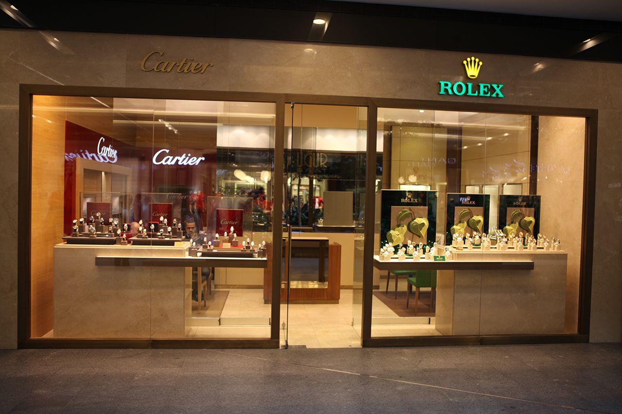Rolex - Cartier