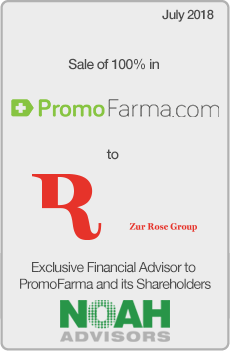 NOAH Advisors Completed Transaction PromoFarma