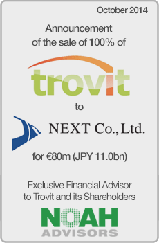 NOAH Transaction - Trovit - October 2014