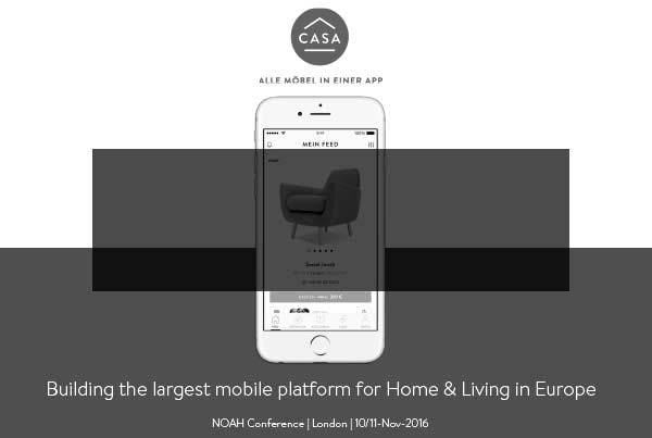 NOAH Startups - Casa