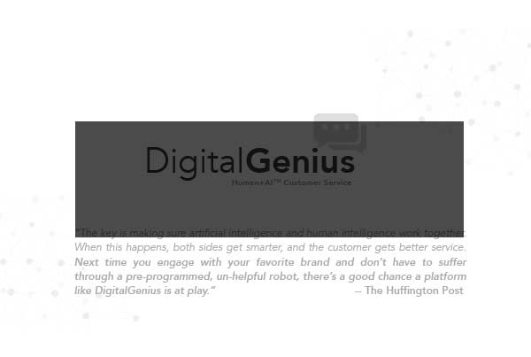 NOAH Startups - DigitalGenius