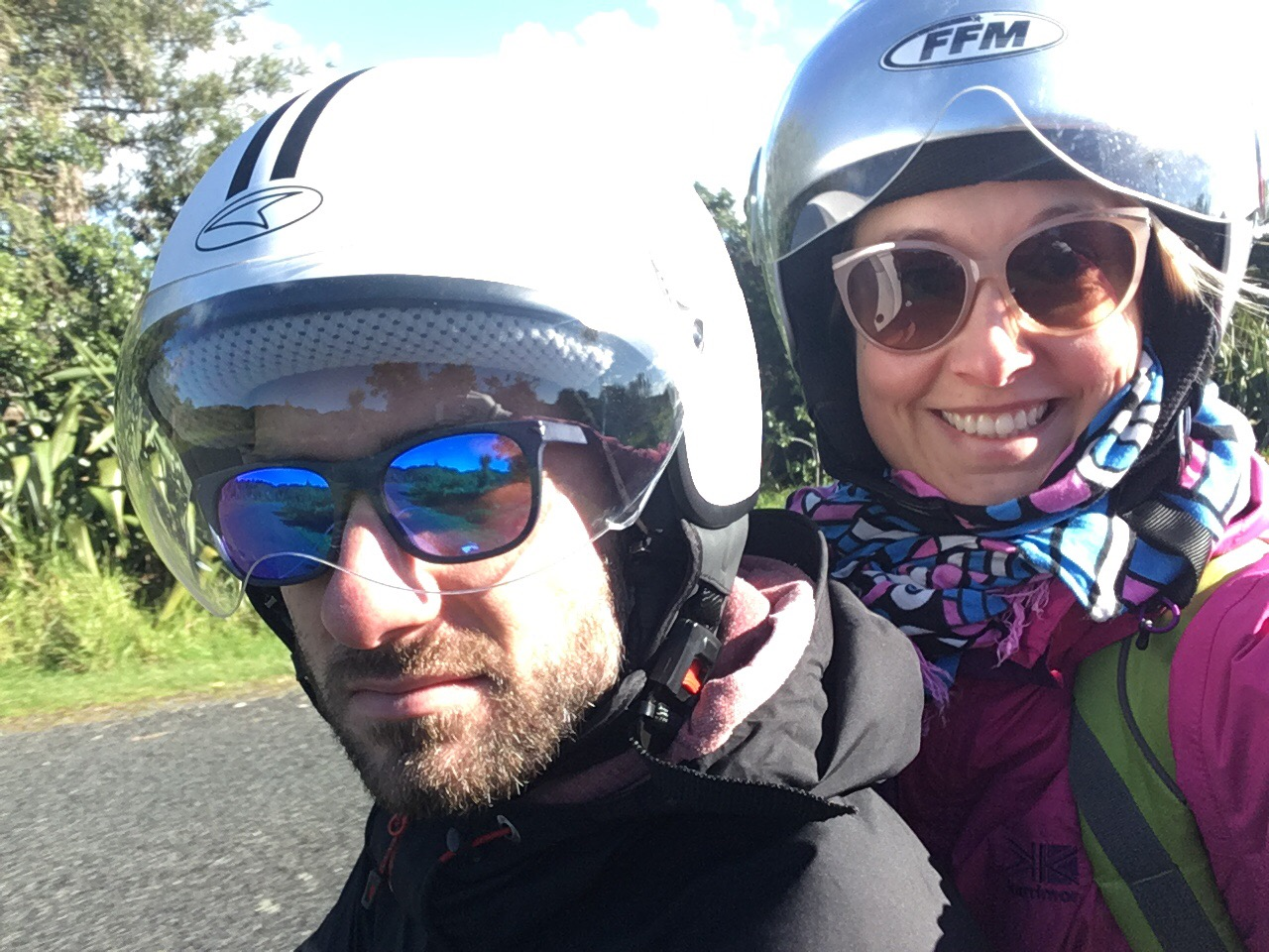 výlet na mopedu