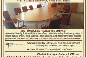 November 2017 - Auction Sale