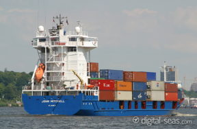 Container Vessel John Mitchell