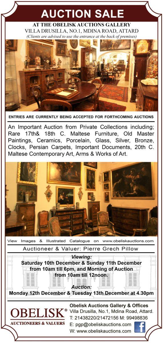 december 2016 antiques fine arts auction obelisk auctioneers