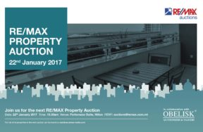 January 2017 - Property Auction in collaboration with Re/max