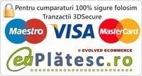 Plati sigure prin SMS sau card