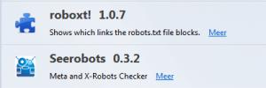 robots meta 300x100 - 2 must-have Firefox tools voor SEO