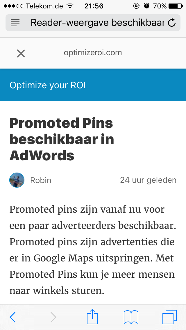 amp optimize - AMP (Accelerated Mobile Pages) zijn nu live in Google
