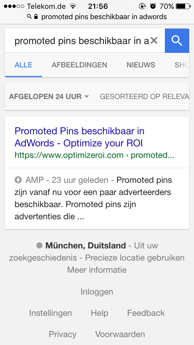 amp optimize2 - AMP (Accelerated Mobile Pages) zijn nu live in Google
