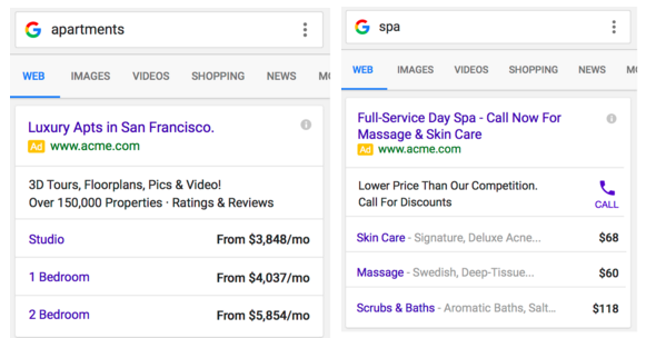 adwords-table-extensions
