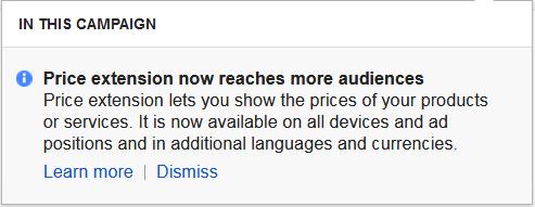 adwords price extension - AdWords price extensions now shown on desktop