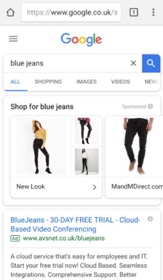 showcase shopping ads adwords 1 - AdWords Showcase Shopping Ads - Was ist es und wie implementiert mann es?