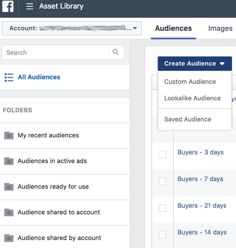 facebook audience overview - Facebook voegt Life Time Value toe aan customer match