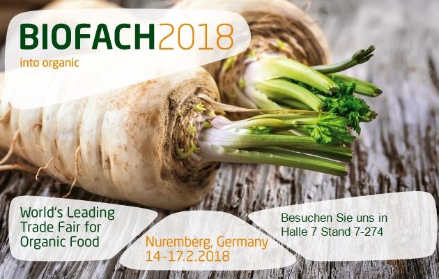BIOFACH Messe 2018, BIOFACH, BIOFACH Messe, Messe Nürnberg, BIOFACH Aussteller, BIOFACH, Mandelöl, Walnussöl, Aprikosenkernöl, Rizinusöl, Rizinusöl Derivate, Pflegeöl, Bio-Lebensmittel, Bio-Öle