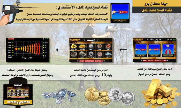 ميغا سكان برو نظام المسح بعيد المدى