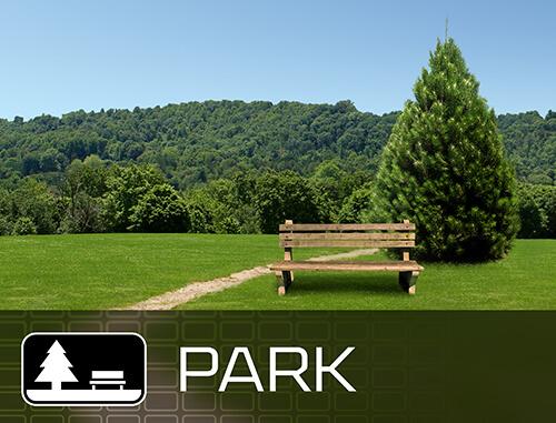 وضع الحدائق العامة