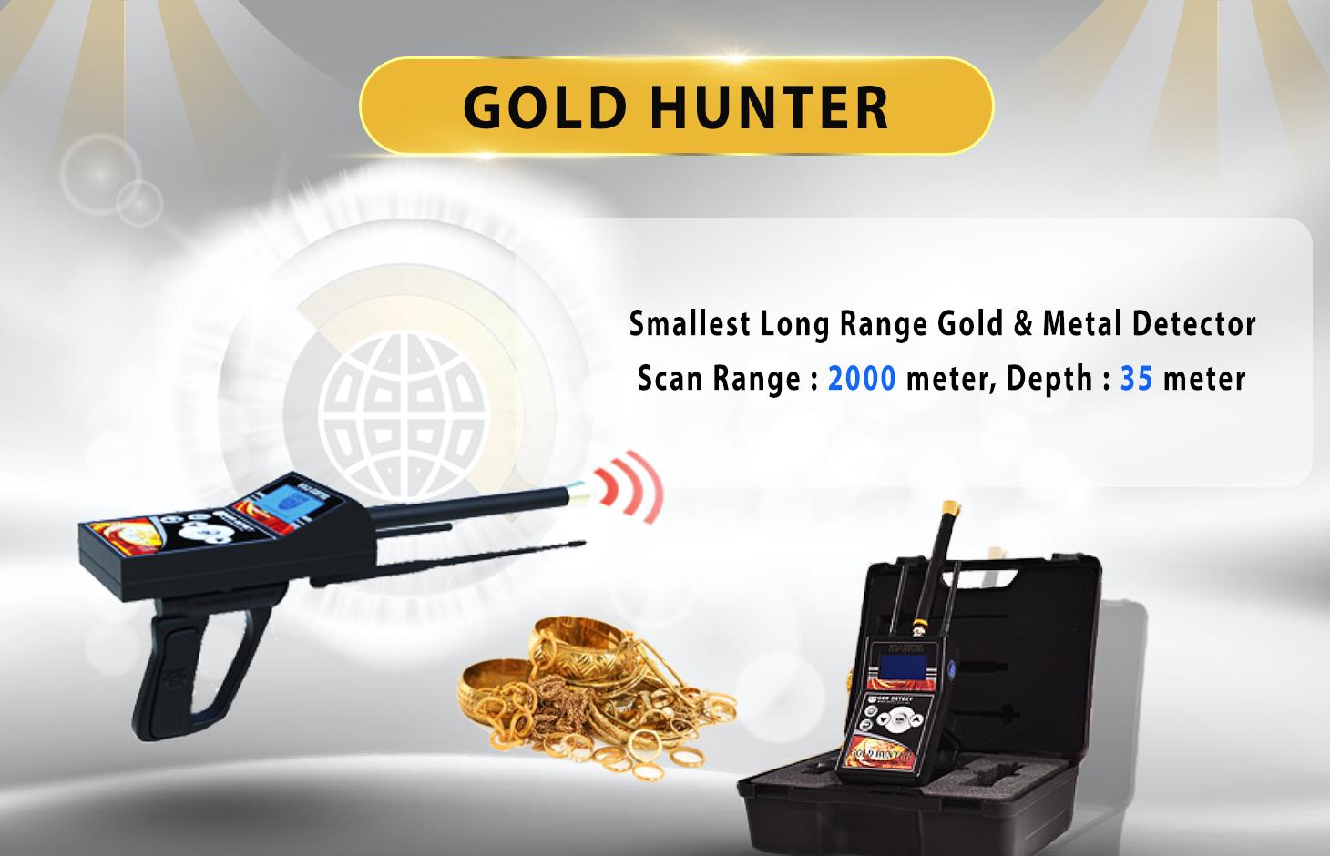 Gold Hunter Long Rang Locators Systems Detectors Range Underground Deep Search Detector Buy