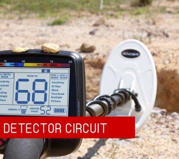 Gold Detector Circuit