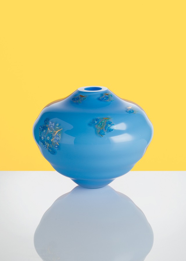 Artwork Decal vase - modrá_1 main picture