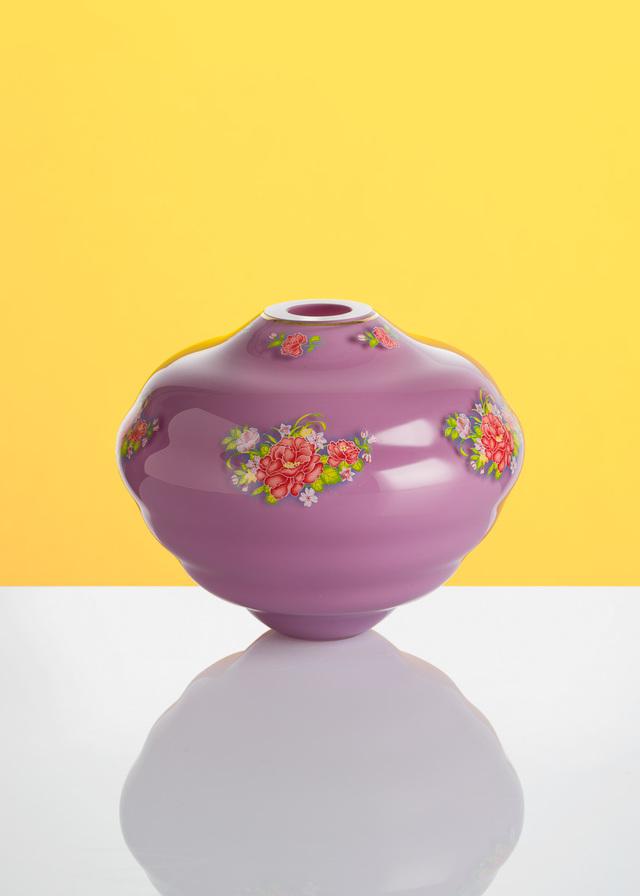 Artwork Decal vase - Fialová_1 main picture