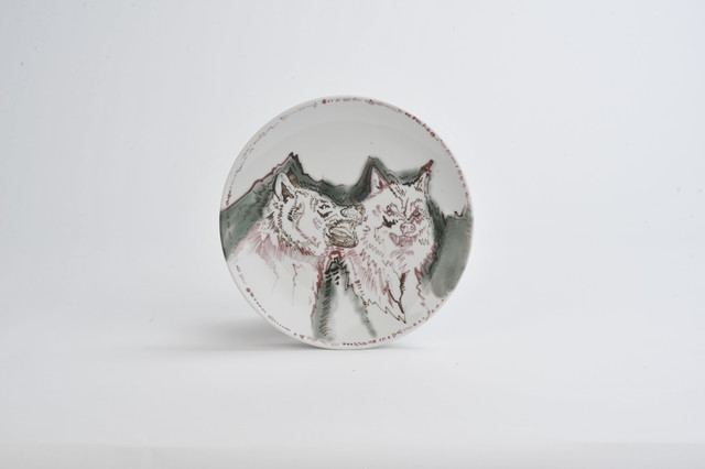 "Artwork Plate ""Wolves"" main picture"